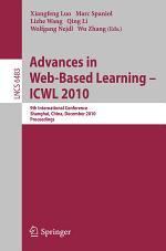 Advances in Web-Based Learning - ICWL 2010