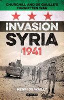 Invasion Syria, 1941