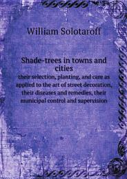 Shade-trees in towns and cities