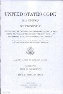 United States Code 2012 Edition Supplement V