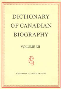 Dictionary of Canadian Biography PDF