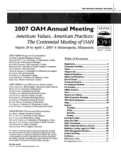 Program of the     Annual Meeting PDF
