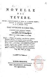 Novelle del tevere : discorso, particolarmente in difesa di S. Gregorio Magno, recitato in Academia Archeologica il di 7. gennaro 1819
