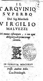 Il Tarquinio superbo del sig. marchese Virgilio Maluezzi