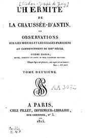 L'hermite de la Chaussée-d'Antin: Volume2