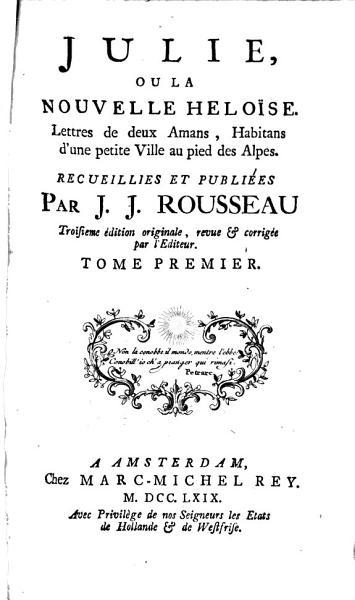 Download Oeuvres de J J  Rousseau de Gen  ve Book