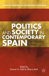 Politics and Society in Contemporary Spain