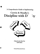 A Comprehensive Guide to Implementing Curwin   Mendler s Discipline with Dignity PDF