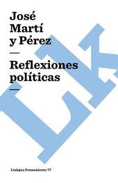 Reflexiones políticas