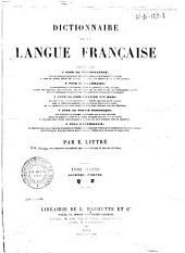 Dictionnaire de la langue française: Volume4