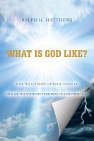 What is God Like  PDF