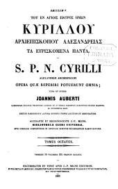 Patrologiae cursus completus: seu bibliotheca universalis ... omnium S. S. patrum, doctorum scriptorumque ecclesiasticorum ... ab aevo apostolico ... ad Photii tempora (ann. 863) ... Series Graeca, Volume 75