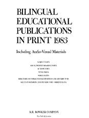 Bilingual Educational Publications in Print PDF
