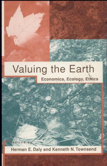 Valuing the Earth  second edition PDF