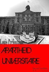 Apartheid Universitaire