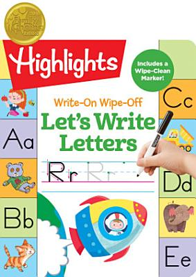 Write On Wipe off Let s Write Letters