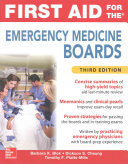 First Aid for the Emergency Medicine Boards Third Edition PDF