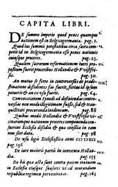 Apologeticus eorum qui Hollandiae Westfrisiaeque et vicinis quibusdam nationibus ex legibus praefuerunt ante mutationem quae evenit anno 1698