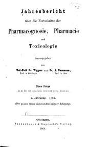 Jahresbericht der Pharmazie: Band 2