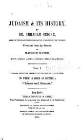 Judaism & Its History