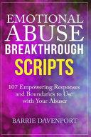 Emotional Abuse Breakthrough Scripts PDF