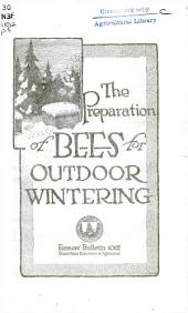 The preparation of bees for outdoor wintering