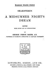 Shakspere's A Midsummer Night's Dream