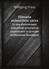 Historia animalium sacra: Volume 2