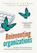 Reinventing Organizations Book