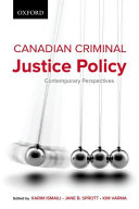 Canadian Criminal Justice Policy PDF