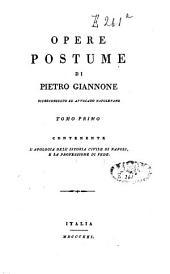 Opera postume: Volume 1