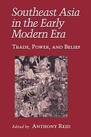 Southeast Asia in the Early Modern Era PDF