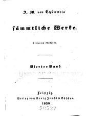 A.M. von Thümmels sämmtliche werke: Band 4