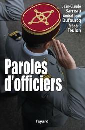 Paroles d'officiers