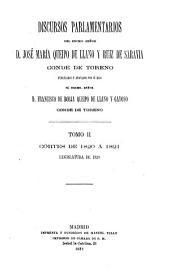 Discursos parlamentarios, publ. y anotados por F. de B. Queipo de Llano y Gayoso: Volume 2