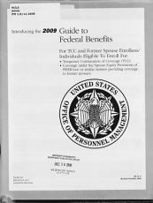 Introducing the     Guide to Federal Benefits for TCC and Former Spouse Enrollees individuals Eligible to Enroll for     PDF