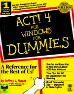 ACT  4 for Windows for Dummies PDF