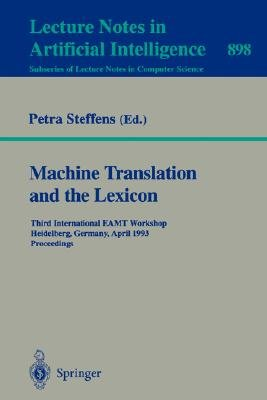 Machine Translation and the Lexicon PDF