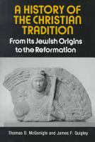A History of the Christian Tradition PDF