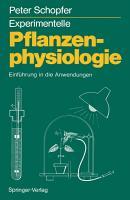 Experimentelle Pflanzenphysiologie PDF