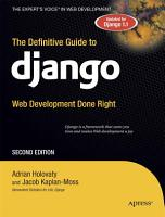 The Definitive Guide to Django PDF