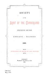Reunion of the Society of the Army of the Cumberland: Volume 19