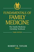 Fundamentals of Family Medicine PDF