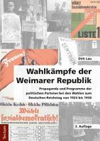 Wahlk  mpfe der Weimarer Republik PDF