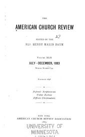 The Church Review: Volume 42