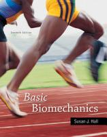 Basic Biomechanics PDF