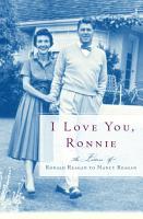 I Love You  Ronnie PDF