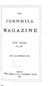 The Cornhill Magazine: Volume 3; Volume 50