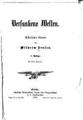 Versunkene welten: historischer roman, Band 1