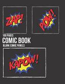 Blank Comic Book Large Size A4 PDF